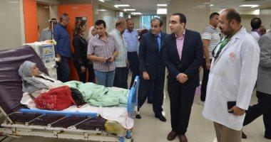 صور.. تطوير المستشفى العام والأورام بالإسماعيلية استعدادا لتطبيق التأمين الصحى الشامل