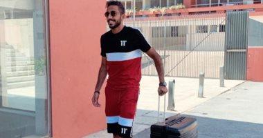 كهربا يعود إلى مصر مرتديًا ألوان العلم