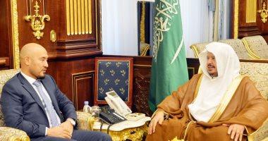 رئيس مجلس الشورى السعودى يستقبل سفيرى باكستان وقرغيزستان