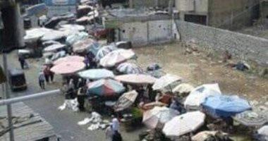قارئ يناشد المسئولين لرصف شارع المعهد الدينى بالكامل فى حى المنتزه
