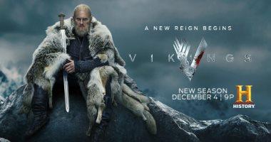 بيورن لوثبروك يزين البوستر الرسمي للموسم الجديد من VIKINGS