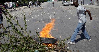 متظاهرون فى هايتى يطالبون باستقالة رئيس بلادهم