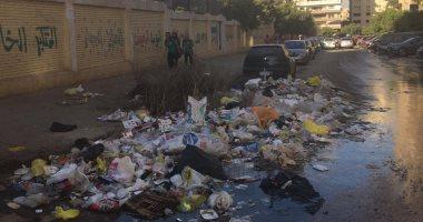 شكوى من انتشار القمامة بطول سور مدرسة ابن النفيس بمدينة نصر