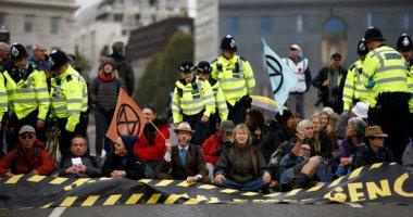 القبض على 21 شخصا من نشطاء مكافحة تغير المناخ فى لندن