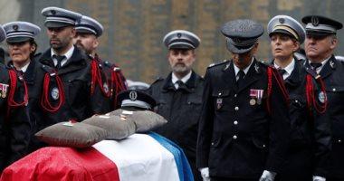 مراسم تأبين 4 من أفراد الأمن فى هجمات على مركز شرطة بباريس