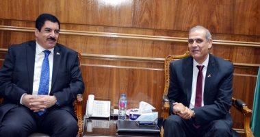 محافظ القليوبية يستقبل مدير المتابعة الميدانية بمنظومة الشكاوى الحكومية بمجلس الوزراء