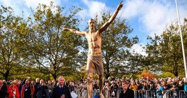 """السويد تُكرم إبراهيموفيتش بـ """"تمثال برونزي"""" فى مالمو"""