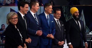 صور..مناظرة تلفزيونية ساخنة بين 6 زعماء أحزاب كندية قبل أيام من الانتخابات