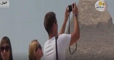 """""""إكسترا نيوز"""" تستعرض أسباب تحقيق مصر أعلى إيرادات سياحية فى تاريخها"""