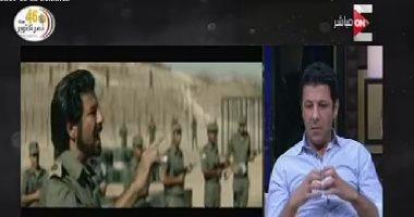 """إياد نصار: """"الناس كانت بتصقف فى السينما لما كنت بضرب من الجنود المصريين"""""""