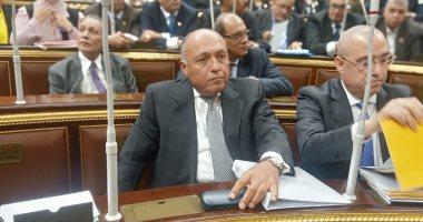 وزير الخارجية بالبرلمان:الجانب الإثيوبى متشدد وانتهك اتفاق إعلان المبادئ