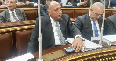 وزير الخارجية: الرئيس وجه باتخاذ ما يلزم من تدابير سياسية لحماية حقوقنا المائية