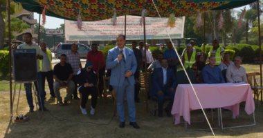 صور.. بانوراما حرب أكتوبر فى مخيم كشفى ضمن احتفالات جامعة أسيوط