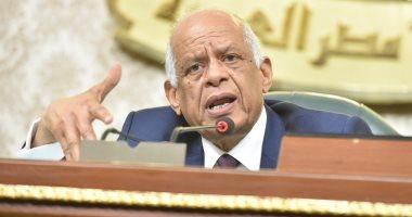 """رئيس البرلمان لـ""""النواب"""": من حارب للدفاع عن الوطن لن يفرط فى نقطة مياه واحدة"""