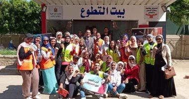صندوق مكافحة الإدمان بجامعة القاهرة يستقبل الطلاب لتوعيتهم بأضرار المخدرات