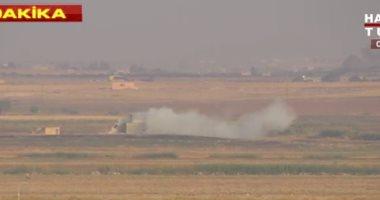 الطيران التركى يشن 5 غارات على مواقع ببلدة رأس العين فى شمال سوريا