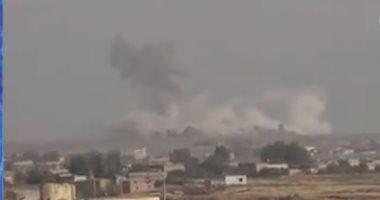 """""""سانا"""": جيش الاحتلال التركى يقصف بلدة تل أبيض فى ريف الرقة"""
