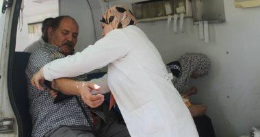 جامعة المنيا تطلق حملاتها للتبرع بالدم لمُصابى العمليات الإرهابية
