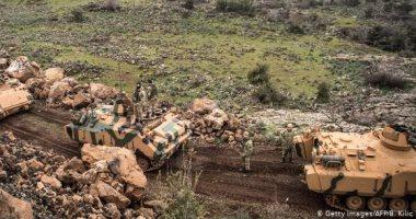 غارات جوية على محيط نقطة مراقبة تركية فى ريف إدلب