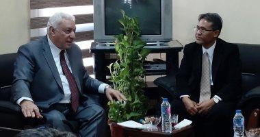 رابطة الجامعات الإسلامية تبحث التعاون مع رؤساء جامعات إندونيسيا