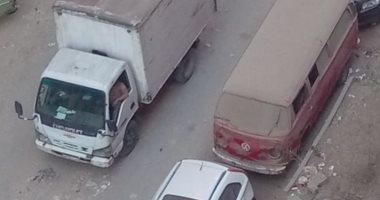 قارئ يشكو تهالك شارع المنشية بمنطقة كفر طهرمس.. ويطالب برصفه