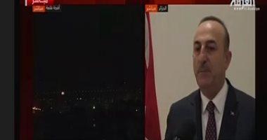 وقاحة تركية.. جاويش  أوغلو: أبلغنا القنصلية السورية بأنقرة بالعملية العسكرية