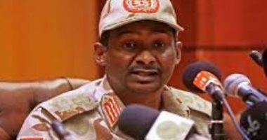 حميدتى يُشيد بدور الأمم المتحدة والاتحاد الافريقى لتحقيق السلام فى السودان