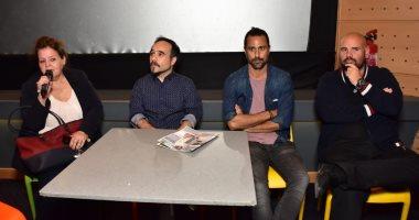 """نجوم الفيلم الأسبانى """"70 بن لادن"""" يكشفون كواليس تصويره بعد عرضه بمهرجان الإسكندرية"""