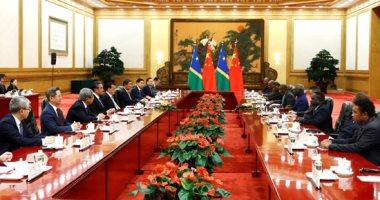 الصين وجزر سليمان يبرمان اتفاقات بعد تدشين العلاقات الدبلوماسية