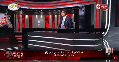 وزير الإسكان: محطات الصرف الصحى ستغطى 42.4% من صعيد مصر منتصف 2020