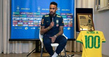 نيمار ينتظر الظهور المئوى مع البرازيل أمام السنغال