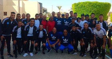منتخب مصر العسكرى يتدرب صباحاً ومساءاً قبل السفر للصين