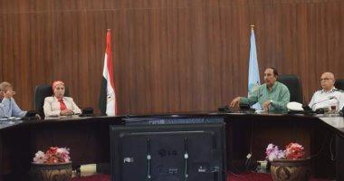 نائب محافظ البحر الأحمر تناقش خطة المحافظة لمجابهة السيول