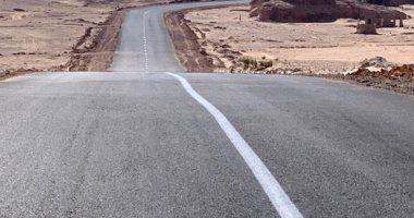 انتهاء المرحلة الأولى من تطوير طريق وادى سعال- سانت كاترين بـ300 مليون جنيه