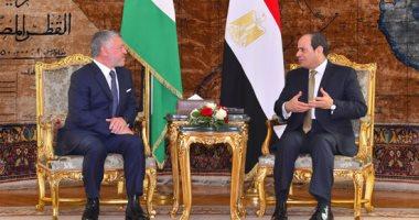 الرئيس السيسى فى مئوية المملكة: نسجل للأردن الشقيق وقوفه الدائم بجانب مصر