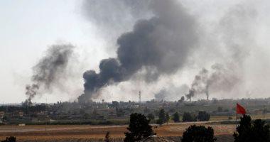 جيش العدوان التركى يسيطر على صوامع الحبوب فى بلدة رأس العين بسوريا