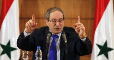 وزير الخارجية السورى: دمشق حريصة على مساعدة لبنان ليتجاوز التحديات