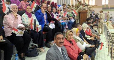 جامعة الإسكندرية تشارك فى لقاء شباب الجامعات احتفالا بانتصارات أكتوبر