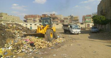 تحرير 31 مخالفة ورفع 130 طن مخلفات من شوارع مركز الفشن جنوب بنى سويف
