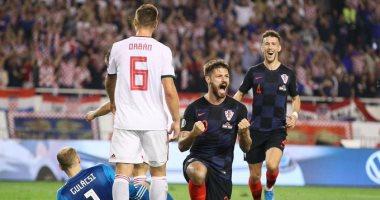 كرواتيا تتخطى المجر بثلاثية فى تصفيات يورو 2020.. فيديو