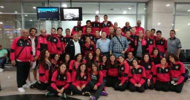 سباحة  الأهلى تغادر القاهرة للمشاركة فى بطولة بلغاريا الدولية