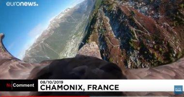 فيديو.. النسر فيكتور يوثق أضرار الاحتباس الحرارى بجبال الألب