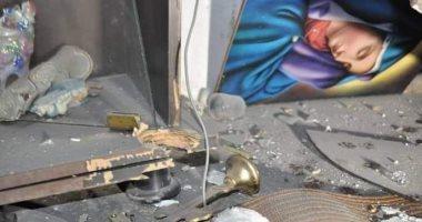 صور من آثار الدمار فى منازل المدنيين بمدينة القامشلى جراء العدوان التركى