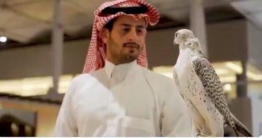 """موسم الرياض يفتتح قسما خاصا لعرض """"الصقور السعودية"""""""