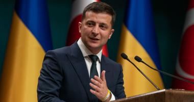 تغريم الرئيس الأوكرانى فلاديمير زيلينسكى بسبب خرقه حظر كورونا