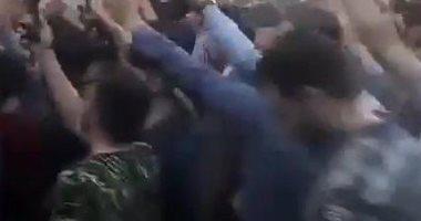 أردوغان مجرم.. شعار محتجين أمام سفارة تركيا في إيران للتنديد بإبادة الأكراد (فيديو وصور)