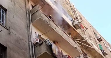 الحماية المدنية بالإسكندرية تسيطر على حريق داخل شقة سكنية دون إصابات