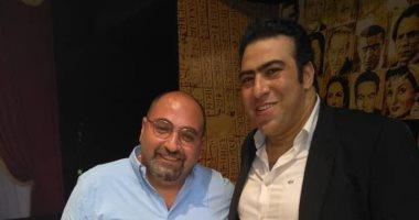 """خالد إبراهيم سائق نقل مع كريم عبد العزيز في """"البعض لا يذهب للمأذون مرتين"""""""
