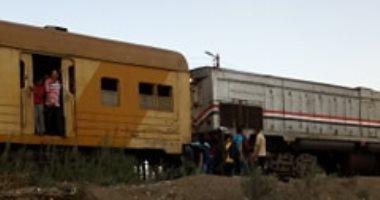 استئناف حركة السكة الحديد بالشرقية بعد سحب جرار قطار المنصورة المتعطل