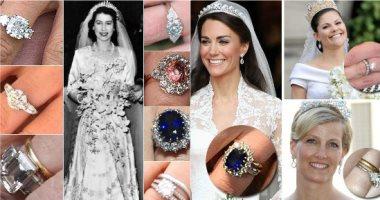 من إليزابيث لـ بياتريس.. شاهد خواتم خطوبة أميرات العائلة المالكة البريطانية